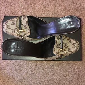 Authentic Gucci Mules